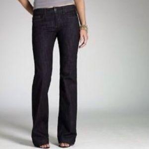J Crew High- Heel Flare Trouser Jeans